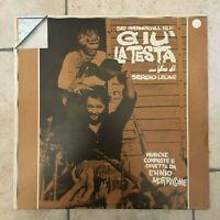 Ennio Morricone _ Già La Testa _ LP Vinile 33 giri Soundtrack _ 1976 Cinevox