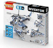 ENGINO Inventor Series - 16 modello-aeromobili-Set di costruzione