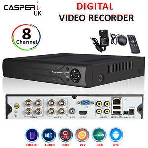 8CH 2MP Smart CCTV DVR Surveillance Camera Video Recorder 4in1 AHD TVI CVI CVBS