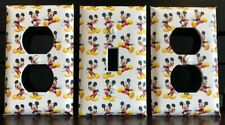 Mickey Mouse Light Switch Cover Plates Disney Outlet Covers Kids Room Bedroom