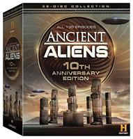 Ancient Aliens TV Series Complete Season 1-10 ~ NEW 36-DISC 10TH ANNIVERSARY DVD
