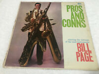 "LP BILL PAGE - PROS AND CONS 12"" VINTAGE RARE NO SCRATCHES"