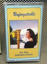DEBORAH NYACK solo harp Unforgettable cassette tape Edelweiss & Godfather NWT