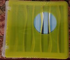 Creative Memories Lime green Wavy 7 x 7 Plastic Scrapbook Album NEW