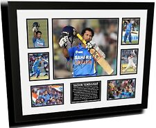 SACHIN TENDULKAR SIGNED LIMITED EDITION FRAMED MEMORABILIA