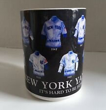 New York YANKEES Uniforms Cooperstown Collection Mug 2002 Sports Souvenirs