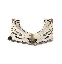 Vintage Nike Air Zoom Hockey Roller Skates Roller Blades Inline White Mens 8.5
