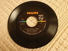 RONNIE CARROLL  SAY WONDERFUL THINGS/PLEASE TELL ME YOUR NAME  PHILIPS 40116