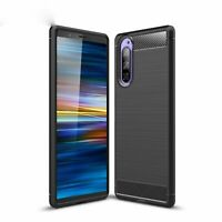 Sony Xperia 5 Case Phone Cover Protective Case Carbon Case Grey