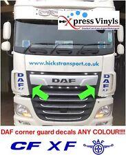 DAF Autocollants X 2 Pour FC, LF, XF vinyle cut graphique autocollants. toute couleur!!!