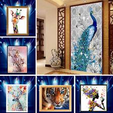 DIY 5D Diamond Painting Embroidery Cross Craft Stitch Art Kit Home Decor Animal