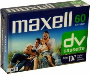 Maxell MiniDV MINI DV 60 min video camcoder  tapes