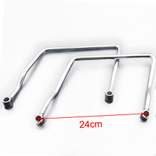 24cm Saddle bag Support Bar Mount Bracket For Kawasaki Vulcan VN 900 VN900