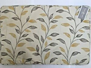 "OAKLEY Design Studio Rectangular 16"" x 24"" 40cm x 60cm Ochre Cream Cushion Cover"