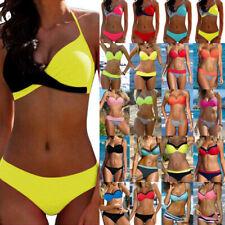 Women Sexy Push Up Padded Bra Bikini Set Swimwear Swimsuit Bathing Beach Suit US