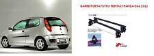 Barre portatutto per Fiat Punto III serie 5 porte dal 2012
