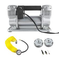 12V 150PSI Heavy Duty Tire Inflator Pump Portable Car Tyre Auto Air Compressor