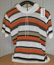 Kurzarm Damen-Pullover mit mittlerer Strickart den Sommer