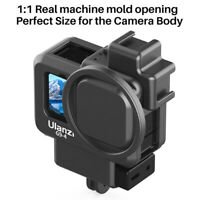 Ulanzi G9-4 Vlog Cage Case Video Rig Dual Cold Shoe w/ Lens Cap For GoPro Hero 9
