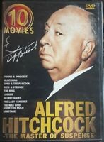Alfred Hitchcock Master of Suspense 10-Movie 5 DVD Disc Box Set 2003