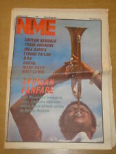 NME 1984 MAR 31 CAPTAIN SENSIBLE FRANK CHICKENS DOA