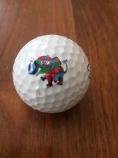 New listing Logo Elephant Saintnine Golf Ball Used White One (1) Extreme Soft Gold