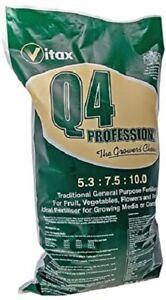 Vitax Q4 General Purpose Fertiliser Feed for Fruit Vegetables Flowers