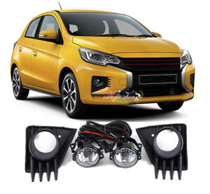 For 2021 Mitsubishi MIRAGE ATTRAGE Car Accessory Front bumper fog lamp light Kit
