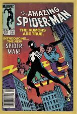 AMAZING SPIDER-MAN #252 VG/FN (5.0) *75¢ CANADIAN PRICE VARIANT* BLACK COSTUME!