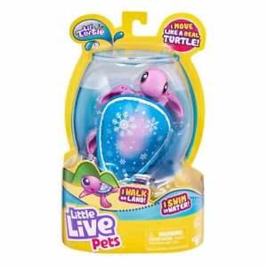 Little Live Pets Lil' Turtle Series 7 - Blue Snowbreeze - Moves on Land & Water