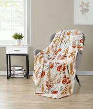 Kate Aurora Living Fall Foliage Ultra Soft & Plush Oversized Throw Blanket Cover