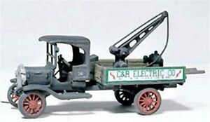 Woodland Scenics 217 Diamond T Service Truck New Free Shipping Made in USA