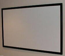 "120"" Raw Bare Projection Projector Screen Material+ Plans for Diy Fixed Screen"