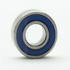 5x11x4 Ceramic Rubber Sealed Bearing MR115-2RSC