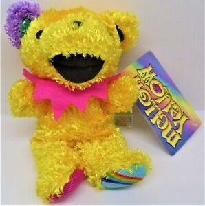 Grateful Dead Mellow Yellow Super Rare Authentic Bear by Liquid Blue