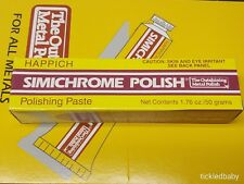 Simichrome 390050 Metal Polish Tube - 1.76 oz. Bakelite Test