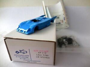 """1/43; Lola T 298 """"Lambretta"""" Le Mans 1979 #20. J.P.S. pre painted resin kit"""