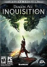 * New * Dragon Age Inquisition: Deluxe Edition - PC * Sealed Game * USA