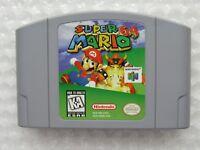 Super Mario Nintendo 64 N64 Authentic OEM Video Game Cart Original Retro GREAT