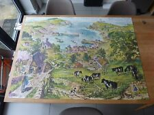 ACROSS THE DOWNS complete vintage 2000 pieces jigsaw puzzle – TOWER PRESS