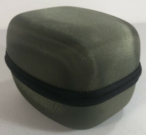 HERMITSHELL Hard Travel Storage Carrying Case for Electronic Earmuff Green NEW