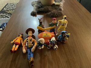 Vintage Toys 80s 90s Figures Happy Meal Junk Drawer Grab Bag Toy Box Lot 3