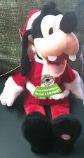 NWT Totally Ticklish Goofy Techno Plush Christmas Hallmark Disney 2013