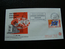 FRANCE - enveloppe 1/6/1966 yt service n° 30 (cy19) french