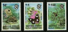 British Indian Ocean   1973   Scott # 54-56   MNH Set