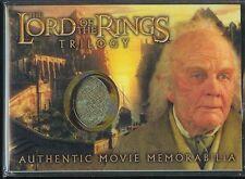 El Señor de los Anillos Trilogía Cromado Recuerdos Carta de Bilbo Chaleco