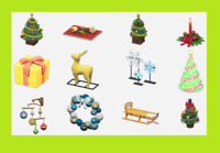 Animal Crossing New Horizons ALL Festive / Holiday Items (Cheapest)