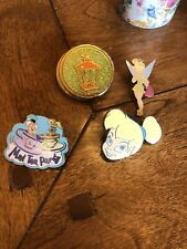 New ListingLot Disney Pins Tinker bell Alice In Wonderland