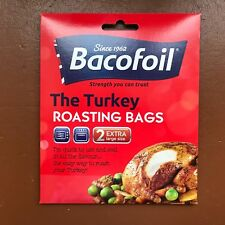Baco Flavour Seal Oven Roasting Bags 2 Extra Large Bags for Turkey Bacofoil