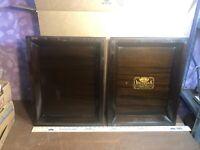 Vintage Victor Victrola VV-S-215 - 18415 PHONOGRAPH 2 Wooden Lids